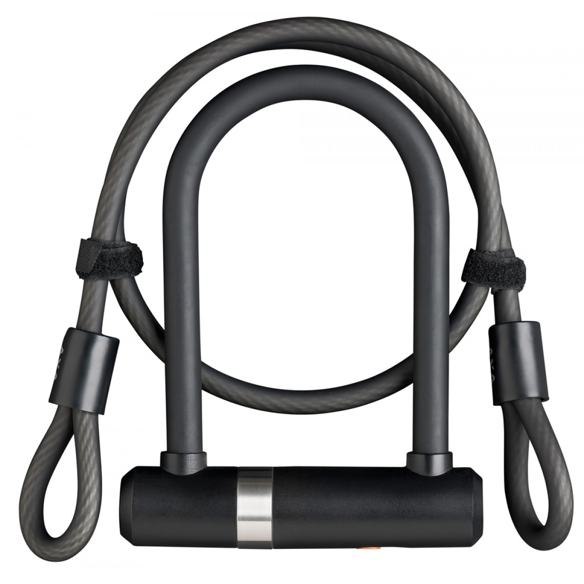 axa newton pro mini 140 16 u lock with cable silver sold secure. Black Bedroom Furniture Sets. Home Design Ideas