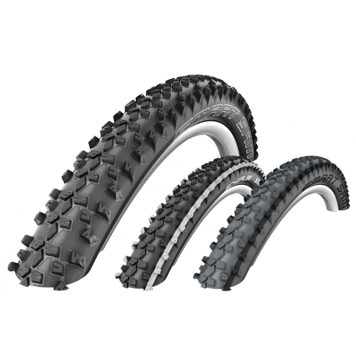 schwalbe smart sam performance dual compound rigid mtb tyre. Black Bedroom Furniture Sets. Home Design Ideas