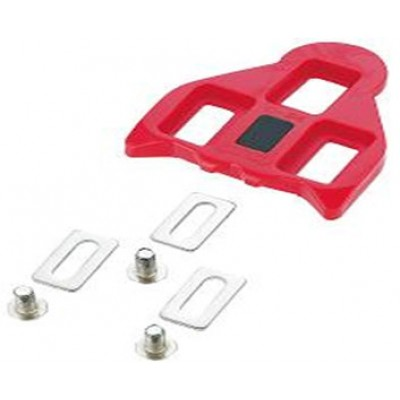 FLR Road C-20 Look Classic 4deg Cleats in Red