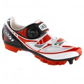 DMT Taurus Women's MTB Shoes - White/Red