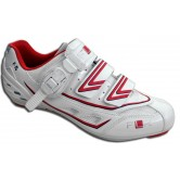 FLR F-15 Race Road Shoe in White/Red