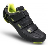 FLR F-35.III Road Shoe - Matt Black / Neon Trim