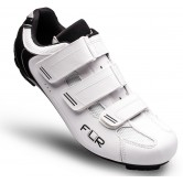 FLR F-35.III Road Shoe - Matt White / Black