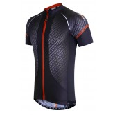 Funkier Airlite Gents Short Sleeve Jersey - Carbon/Red (J-791)