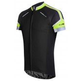 Funkier Artena Gents Short Sleeve Jersey - Black (JR-790)