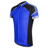 Funkier Artena Gents Short Sleeve Jersey - Blue (JR-790)