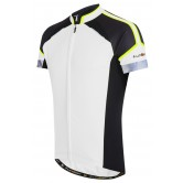 Funkier Artena Gents Short Sleeve Jersey - White (JR-790)