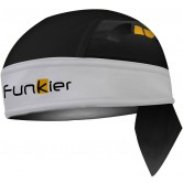 Funkier Altea BAN-758 Bandana - Black/White