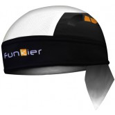 Funkier Altea BAN-758 Bandana - White/Black