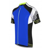 Funkier Hueza Gents Elite Short Sleeve Jersey - Blue / Black