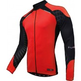 Funkier Force J-730-1-LW Gents Long Sleeve Jersey - Red/Black