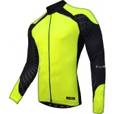 Funkier Force J-730-1-LW Gents Long Sleeve Jersey - Yellow/Black