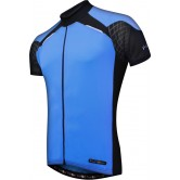 Funkier Force J-730-1 Mens Short Sleeve Jersey in Blue/Black