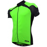 Funkier J-730-1 Mens Short Sleeve Jersey in Green/Black
