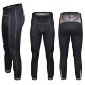 Funkier S-302W-B7 Active Winter Thermal Microfleece Tights - Black