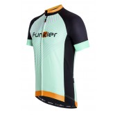 Funkier Sport Gents Short Sleeve Jersey (J-794) - Mint/Black