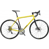 Genesis Equilibrium Disc 20 Road Bike - Acid Yellow - STORE COLLECTION ONLY