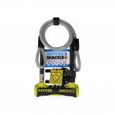 Oxford Shackle 14 Duo U-Lock (320mm) Yellow
