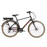 Raleigh Array Cross Bar Electric Bike - Black