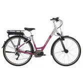 "Raleigh Motus Hub Low Step 26"" Electric Bike - Cerise"