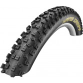 Schwalbe Hans Dampf Evolution SnakeSkin TL-Ready TrailStar Compound Folding MTB Tyre in Black