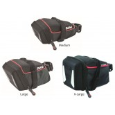Zefal Iron DS Semi-Rigid Saddlebag (Velcro Fitting)