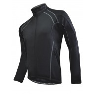 Funkier BWJ1302 TPU Waterproof Jacket in All-Black