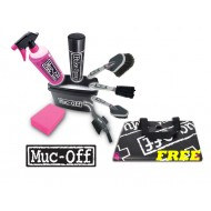 Muc-Off 8-in-1 Bike Cleaning Kit - FREE FLOOR MAT!