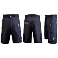 Funkier Camba B-3213 MTB Rider Baggy Shorts inc liner - All colours