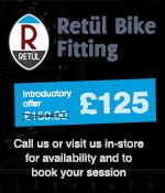 retul bike fit available at the bike factory
