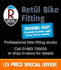 retul bike fit available from the Bike Factory