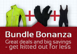 Bundle deals on cycling gear at discount prices from www.ukbikefactory.com