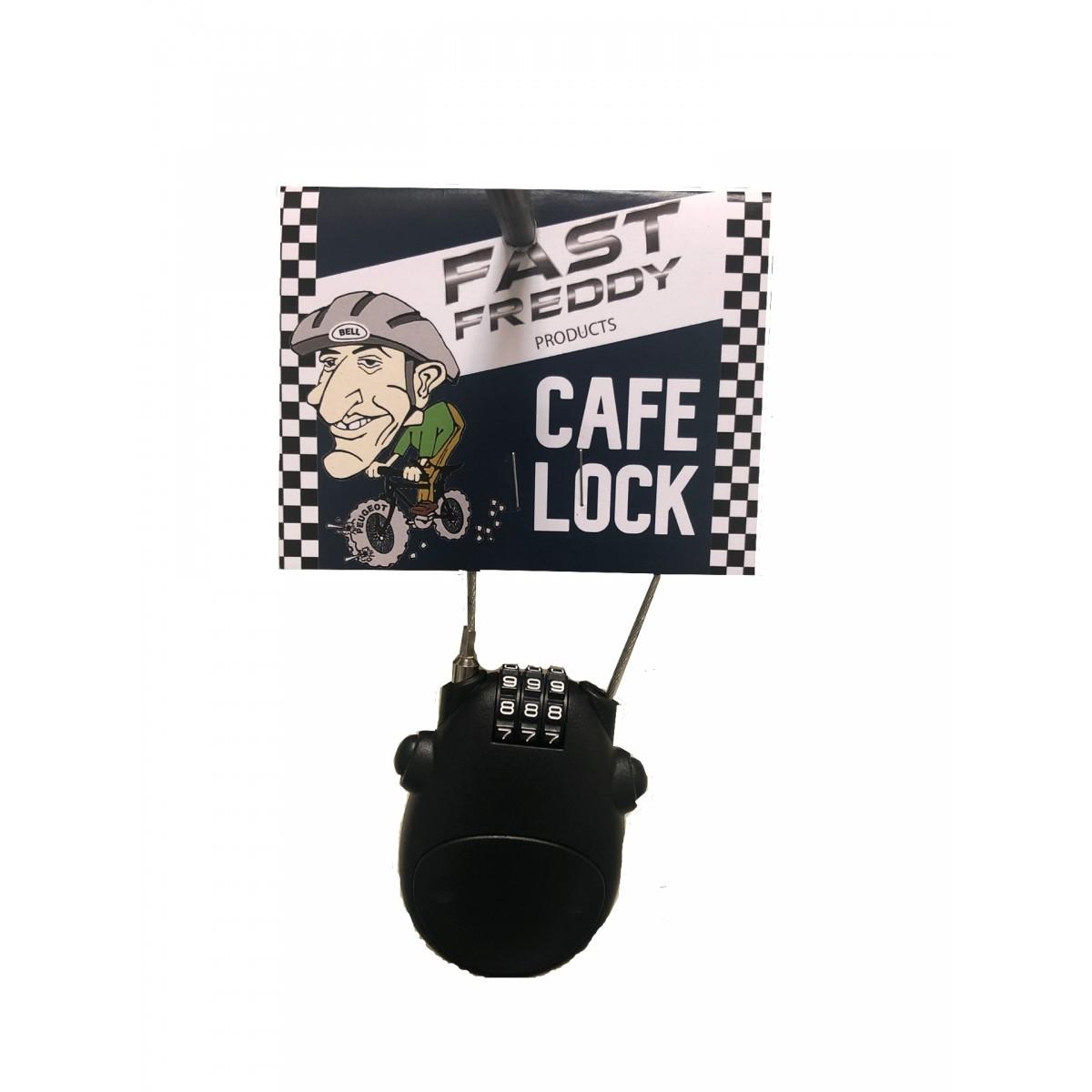 Ski Lock Bicycle Cafe Lock Wheel Fast Freddy Café Lock – Bike Helmet