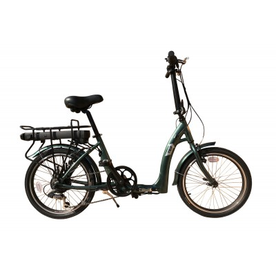 Batribike Trip - Electric folding bike - Green