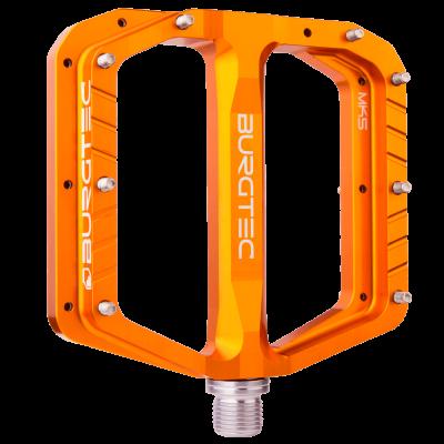 Burgtec Penthouse Flat MK5 Pedals - Iron Bro Orange