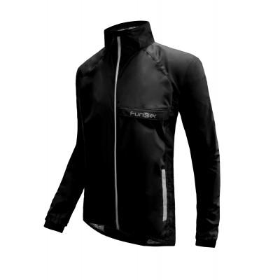 Funkier Attack WJ-1327 Gents Waterproof Jacket - Black