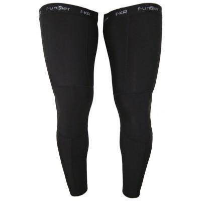 Funkier LW03 Winter Thermal Leg Warmers in Black