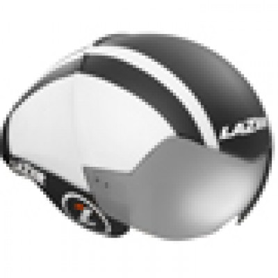 Lazer Wasp Air Helmet - Black / White Lines