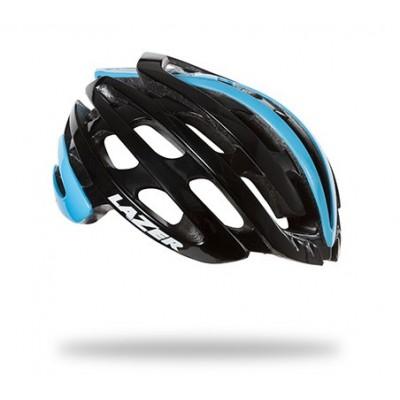 Lazer Z1 Road Helmet - Black Belgian Blue