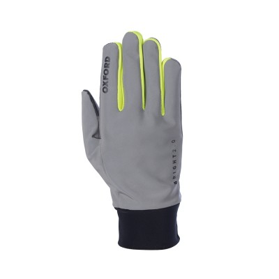 Oxford Bright Gloves 2.0 – Black / Grey