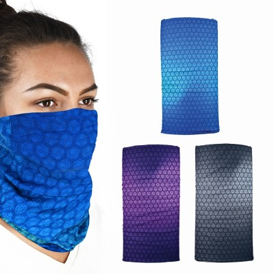 Oxford Comfy - Face /  Neck Covering - 3 Pack - Prismatic