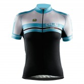 Ale Ultra Libeccio Women's Cycle Jersey - Black/Blue/White