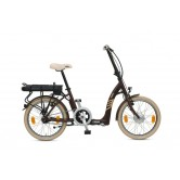 Batribike - Sigma - Super Low Step Through Folding Electric Bike - Earth Brown