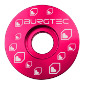 Burgtec Top Cap - Toxic Barbie (Pink) stem cap