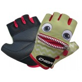 Chiba Cool Smile Kids-Line Mitts - Green
