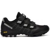 FLR Bushmaster MTB/Trail Shoe - Black/Silver - Velcro Fastening
