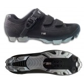FLR F-60 XC MTB Cycling Shoes in Black