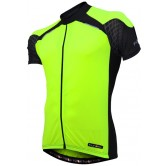 Funkier Force J-730-1 Mens Short Sleeve Jersey in Yellow/Black
