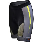 Funkier Aurora S-2768-C12 Active Ladies Cycling Shorts - Black/Yellow