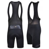 Funkier Force S-922-C7 Mens Active 17 Panel Bib Shorts in Black